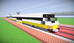 Dallas DART Light Rail SLRV Minecraft Project