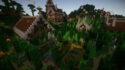 Heaven: Medieval, Ancient ruins, Gothic, Archeological excavations, etc. Minecraft Map & Project