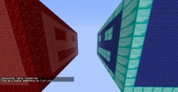 Red vs Blue {2 players} v.1.10.x Minecraft Map & Project