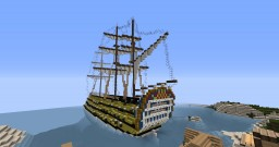 HMS George Minecraft Map & Project