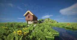 Tudor Style Home/Watermill [Conquest Reforged] Minecraft Map & Project