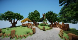 Commission - Skyblock Spawn Minecraft Project