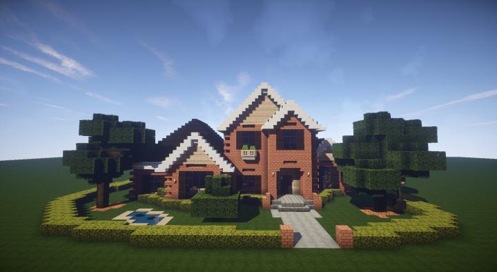Brick House Minecraft Project