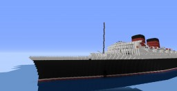 R.M.S. Queen Victoria Minecraft Map & Project