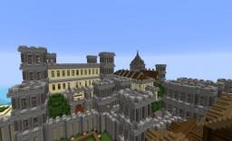 Medeival Castle Village Minecraft