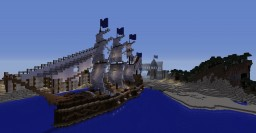 Large Imperial Ship - Built in Survival - On SourceBlock Network Minecraft Map & Project
