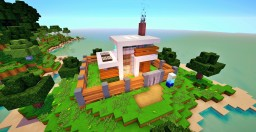 Animated Self Building Redstone House [w/2500 Command blocks!] Minecraft Map & Project