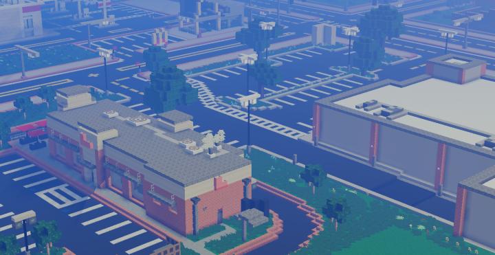 Small Mine Development : Small under development suburb santa fornia minecraft