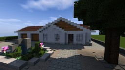 Modern Surburban House Minecraft Map & Project