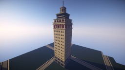 Nebotičnik, Skyscraper - Ljubljana, Slovenia Minecraft Map & Project