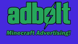 [REVIEW] Adbolt: In-Game Advertising! Minecraft Blog