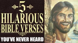 5 Hilarious Bible Verses You've Never Heard Minecraft Blog Post