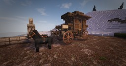 Medieval Carriage Design [Conquest Reforged] Minecraft Project