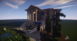 Italian Mansion Minecraft Map & Project