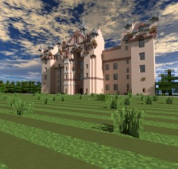 ♦ Fyvie castle ♦ Real Life Remake ♦ Minecraft Project