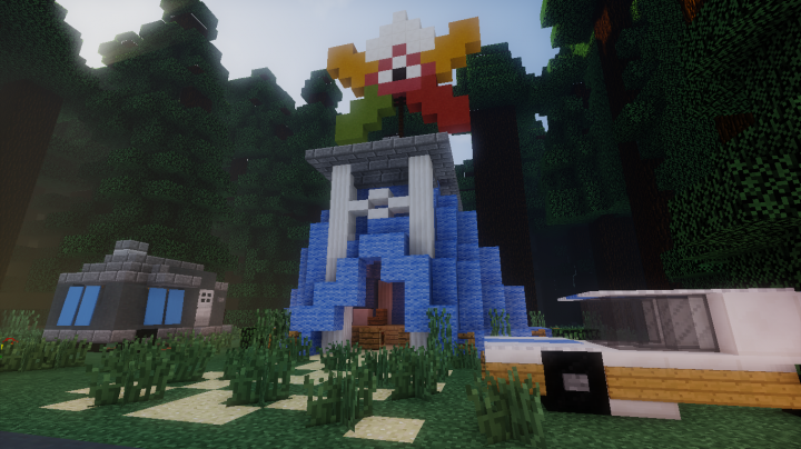 Gravity Falls Accurate Recreation Map Minecraft Project