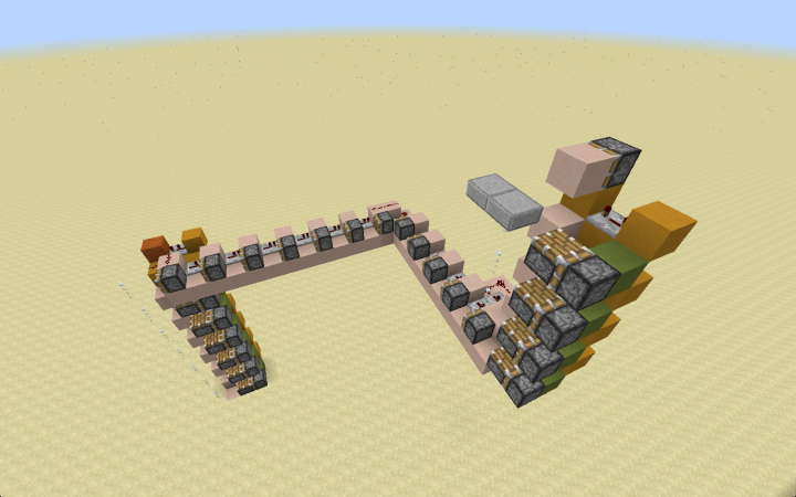 You can use it to move in all directions, go around obstacles and even switch paths using some extra redstone