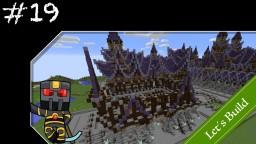 Minecraft Let's Build Timelapse - Fantasy - Week 19 - Market District Start Minecraft Map & Project