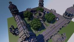 4 Portal Hub/Spawn Minecraft Map & Project