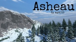 Asheau--Winter Continent (World Painter) Minecraft Project