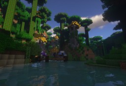 Orus village Minecraft Project