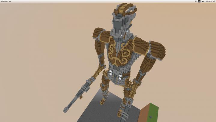 Steampunk Mecha Minecraft Project