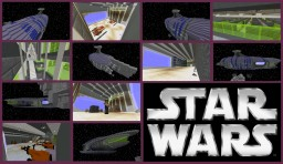 Star Wars Ship Minecraft Map & Project
