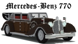 Mercedes-Benz 770 Minecraft