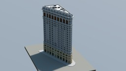Flatiron Building,  New York. Minecraft Map & Project