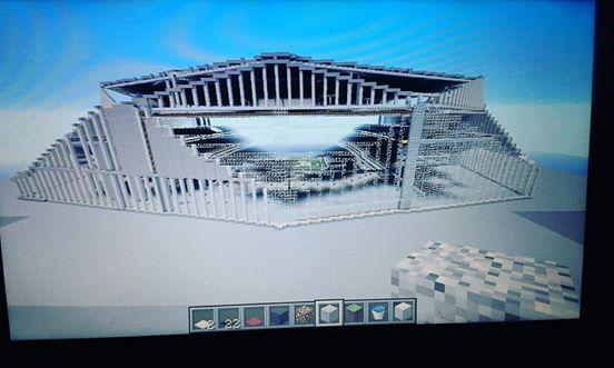 mercedes benz stadium minecraft. Merzedez-Benze Stadium (Atlanta Falcons) Mercedes Benz Minecraft