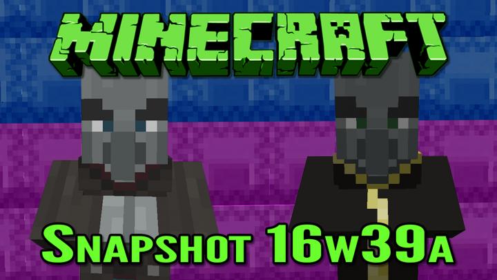 Minecraft Snapshot 16w39a The Adventure Update Minecraft