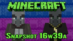 Minecraft Snapshot 16w39a | The Adventure Update Minecraft Blog Post