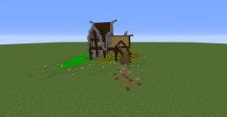 Medival House Minecraft Map & Project