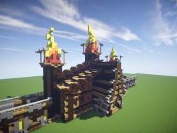 Village Gate + Timelapse Minecraft Map & Project