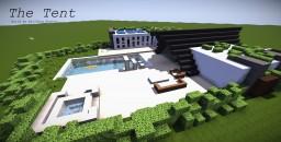 The Tent - A modern Villa Minecraft Map & Project