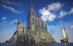 Beaudegard Island - A fantasy church Minecraft