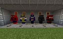 Marvel Mission Resource Pack Minecraft
