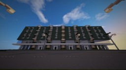 5 Storey modern apartment and office building | Artenia Minecraft Project
