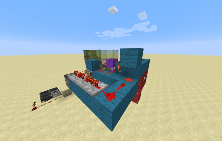 how to build a minecraft dispenser