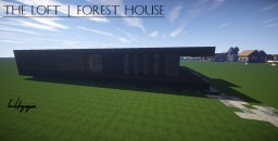 "The Loft - A wooden ""Vlla"" Minecraft"