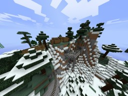 swiss mountain railway inspired line Minecraft Map & Project