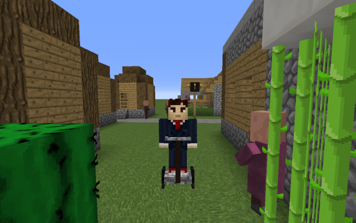 Rideable Segway. Spawned when you kill Dr. Inconsiderate.