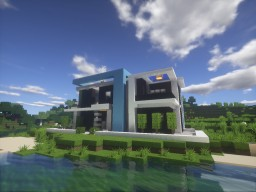 Modern House - Minectaft 1.10.2 Minecraft Project
