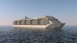 MS ELDORA 1:1 size Cruise Ship Minecraft Project