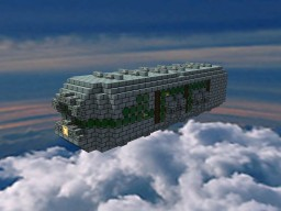 The Alcólain Empire of Eolas: Amnixiel-Class Gunship Minecraft Map & Project