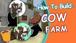HOW ! EASY Semi-Auto COW  Farm! (WORKS IN SKYBLOCK!) -1.10 Minecraft Blog Post