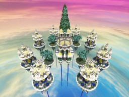 Sky wars map - Edens' Conflict Minecraft