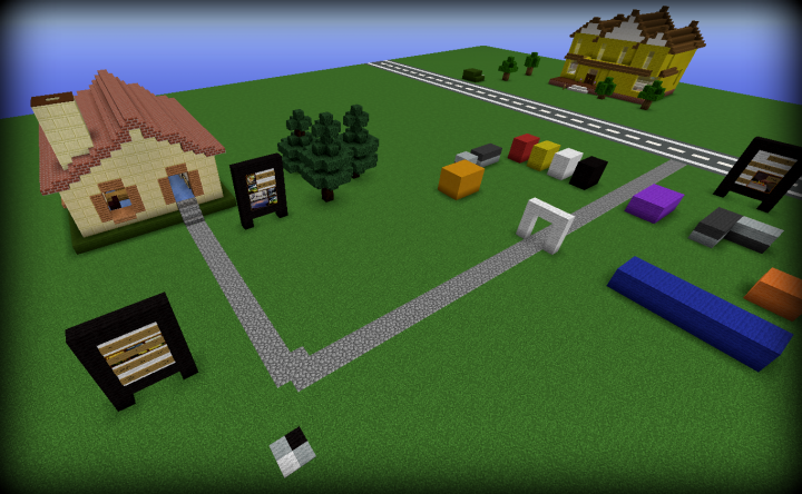 Roblox Classic Happy Homes In Robloxia 2008 And 2012 1 8 Minecraft Project