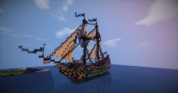 Baltic brigantine early 18th century (with download) Minecraft Map & Project