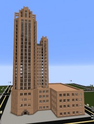 The Gazette Building Minecraft Project